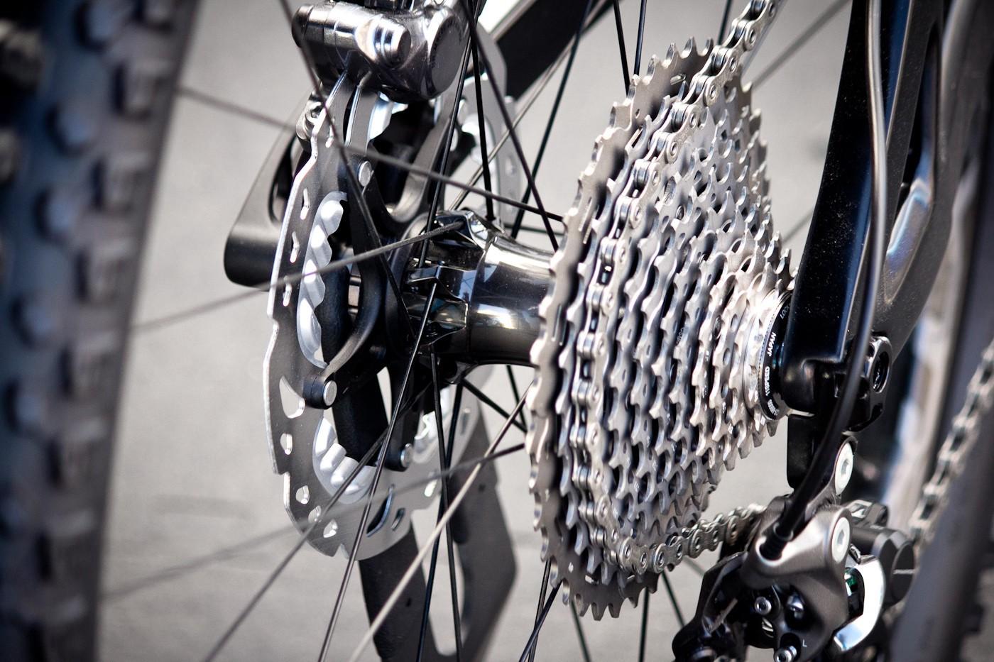 Marchas da bike: cassete