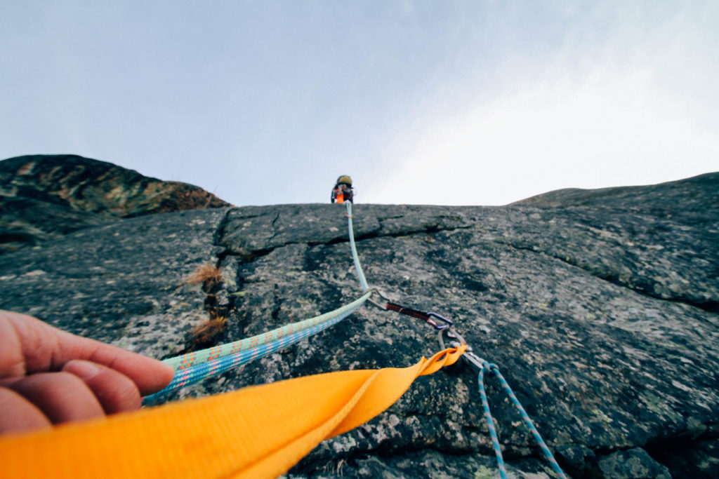 Equipamentos de escalada: corda