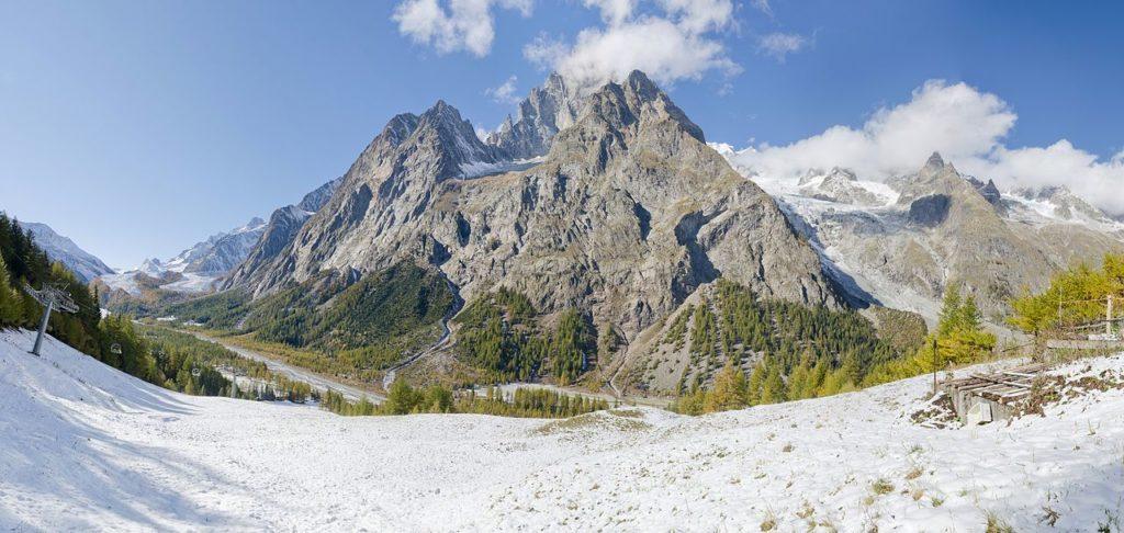 Escalada e esportes verticais: Mont Blanc