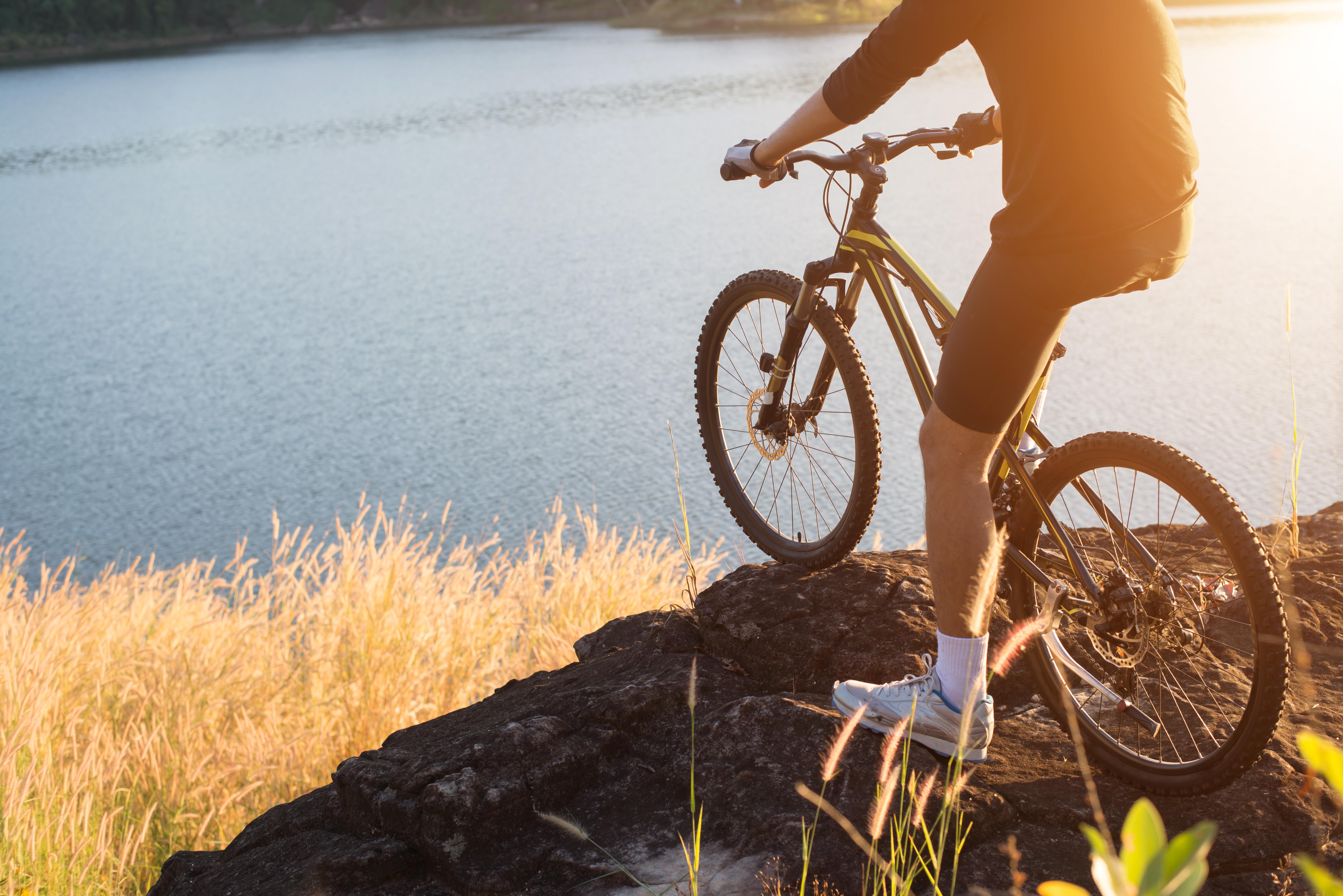 suspensão para bike
