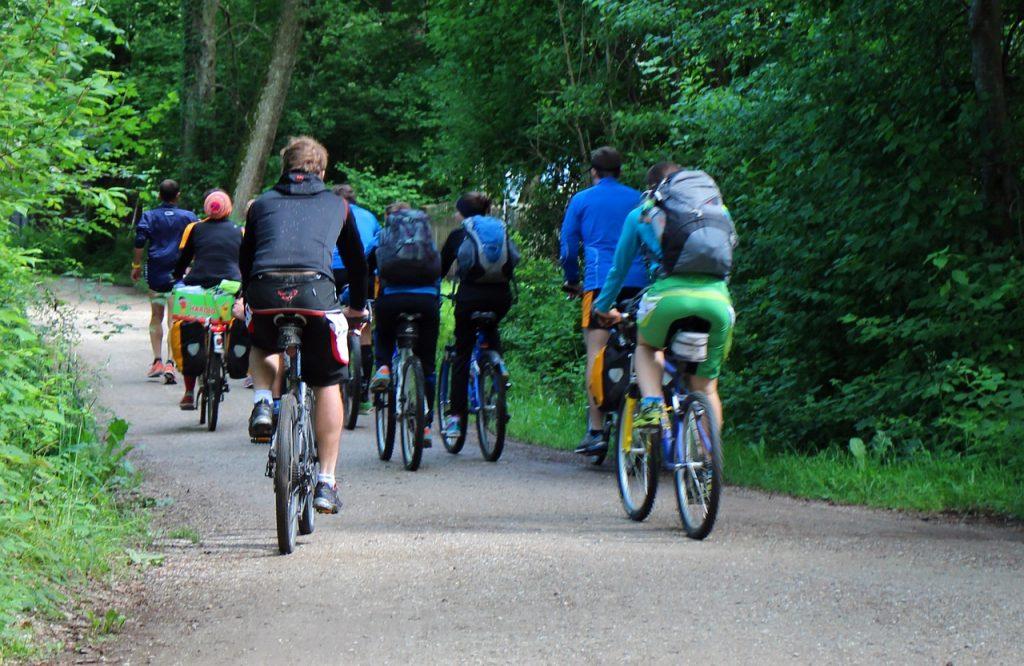 grupo mountain bike