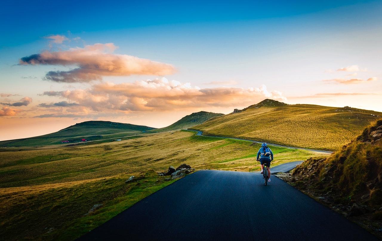 ciclista MTB
