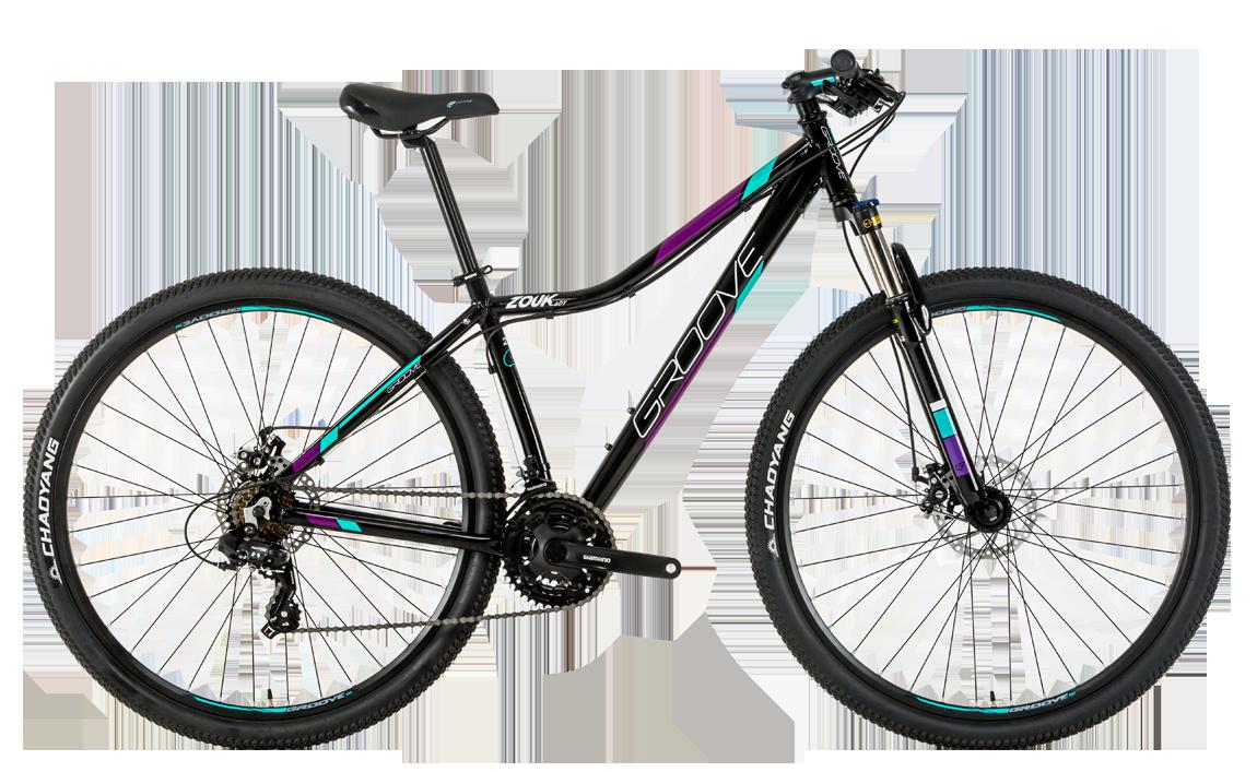 Groove Zouk Lady bikes de entrada para mulheres