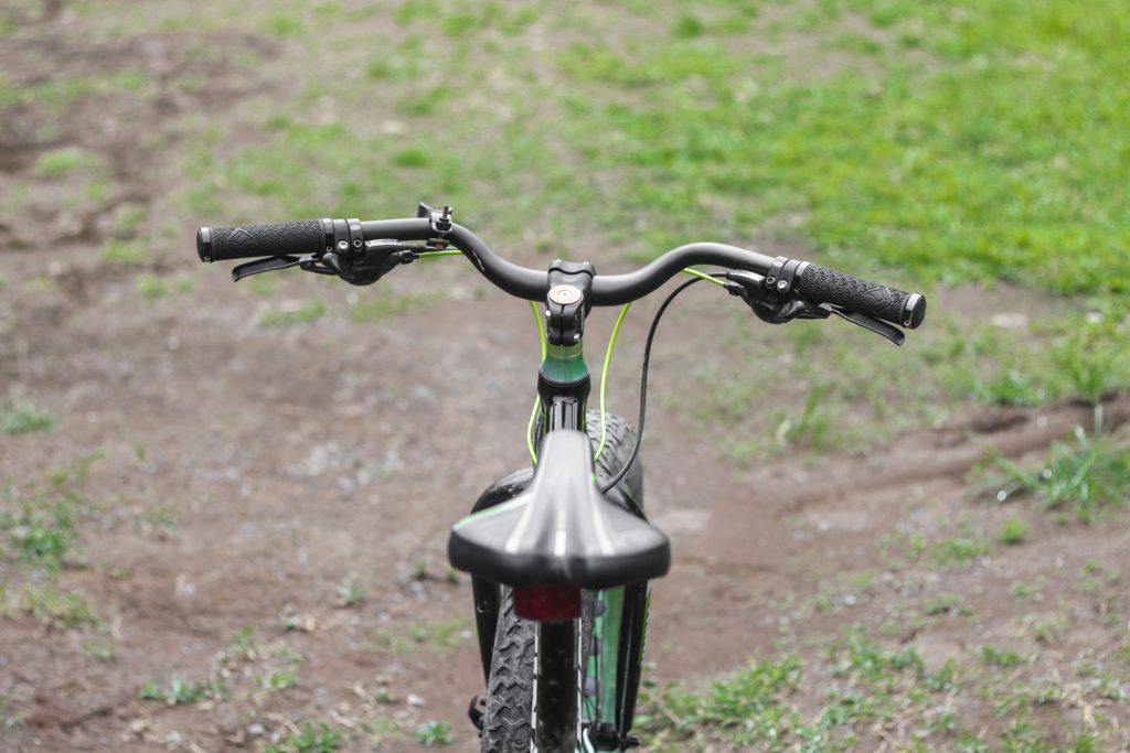guidão para bike riser curvo