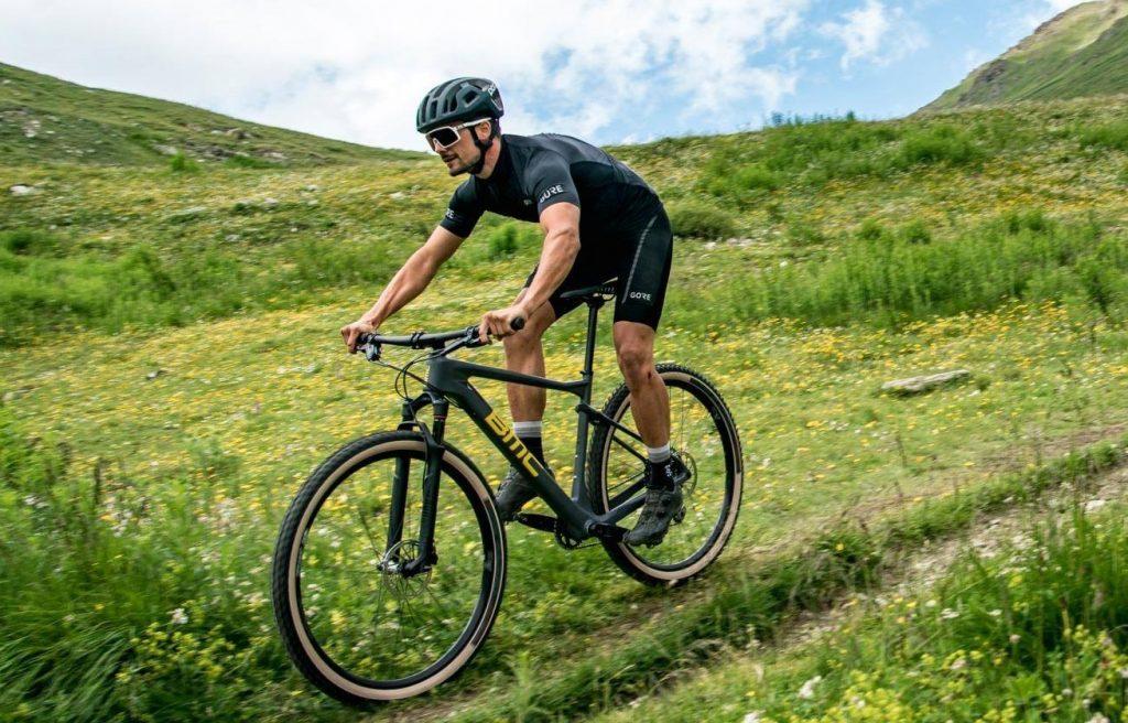 Mountain Bikes da BMC na cor preta