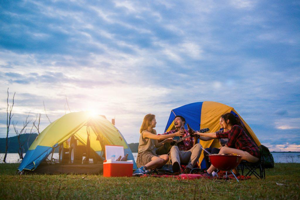 Camping: aventura e diversão garantidas